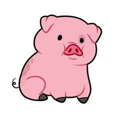 236x236 Happy Piggy Yj Animal, Clip Art And Patchwork