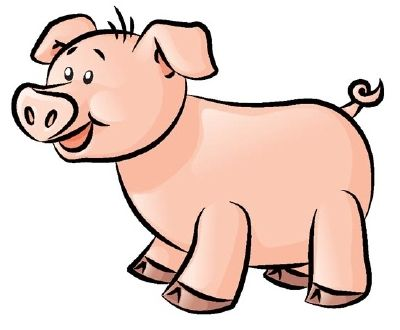 400x330 How To Draw A Pig In 5 Steps