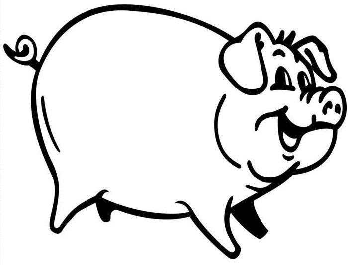 700x533 Pig Template