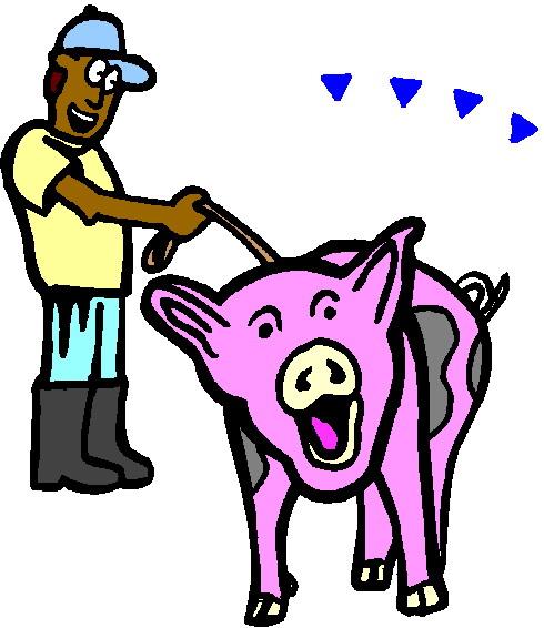 490x566 Pig Hoof Print Clip Art