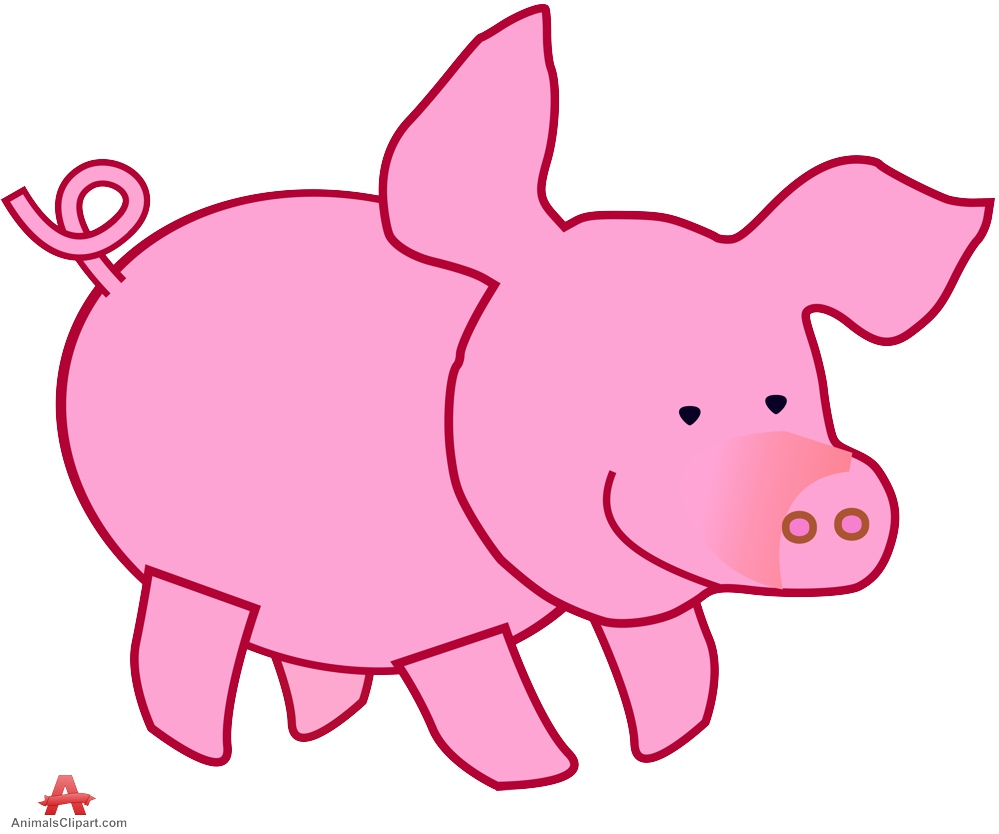 999x834 Pork Clipart Little Pig