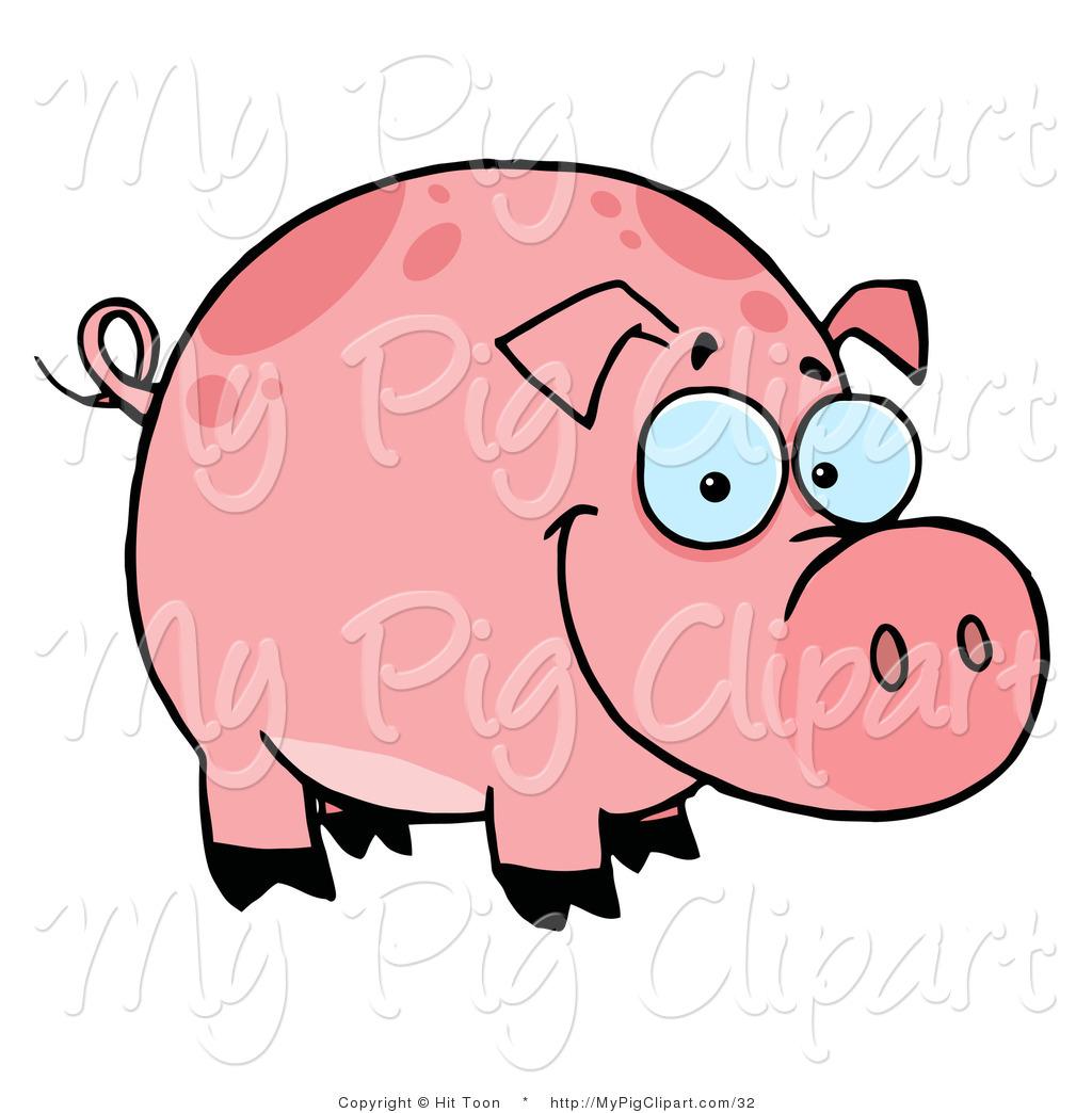 1024x1044 Smiling Pig Clip Art