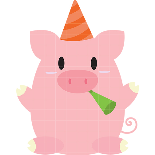 504x504 Birthday Pig Clip Art 0 25 Add Clipart Panda