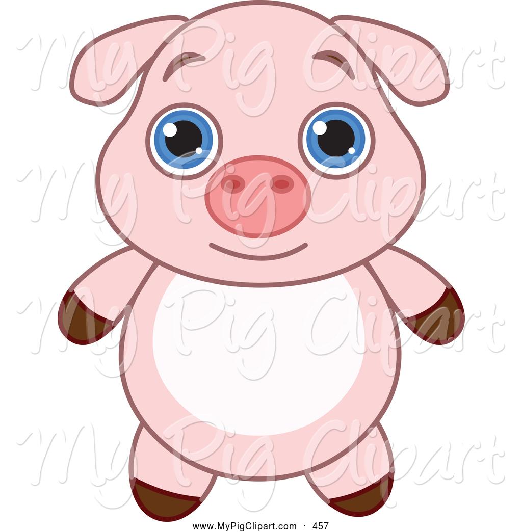 1024x1044 Cute Pig Clipart