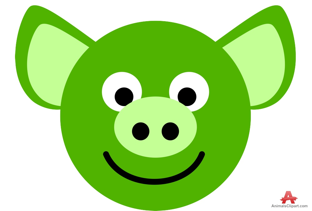 999x677 Happy Pig Face Clipart Free Clipart Design Download