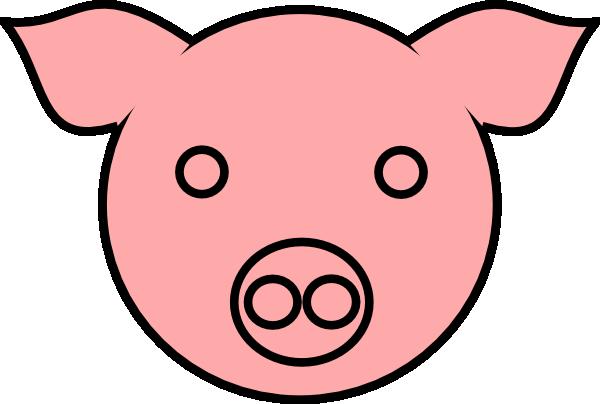 600x404 Pig 9 Clip Art