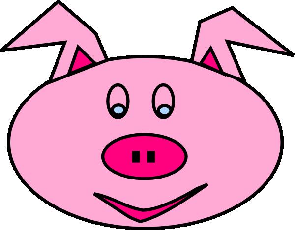 600x469 Pig Face Clip Art