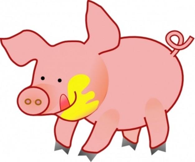626x521 Pig Clip Art Free Download Clipart
