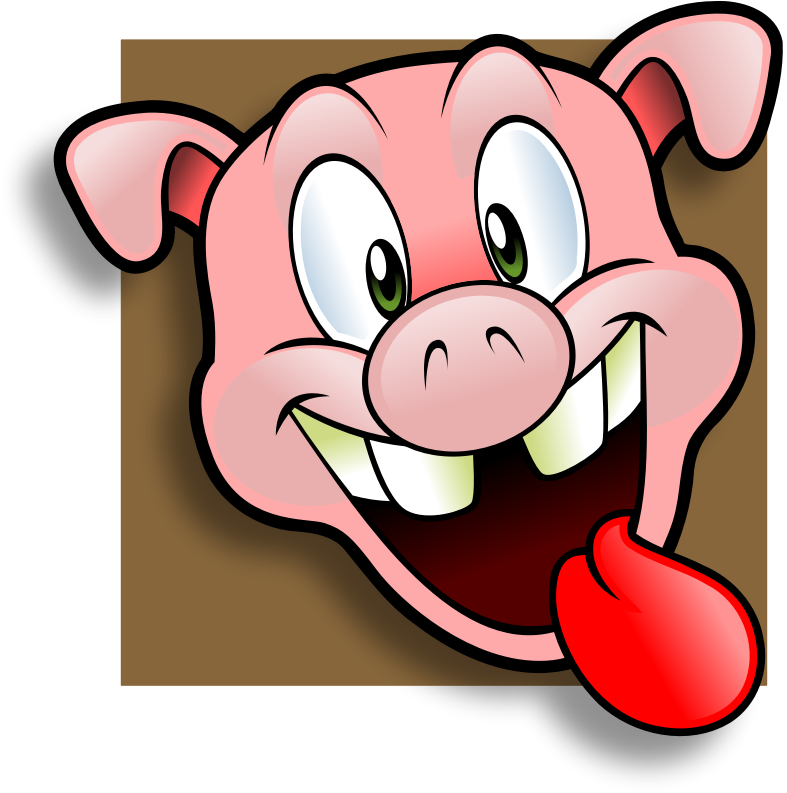787x793 Pig Clipart Angry