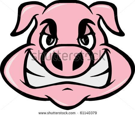450x388 Mad Pig By Sferdon, Via Shutterstock Clip Art Amp Graphics
