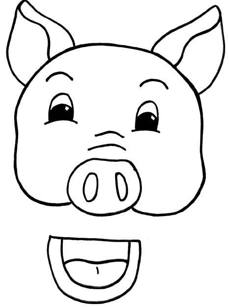 pig face clipart free download best pig face clipart on clipartmag com