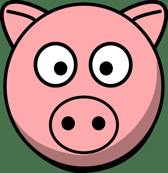 582x598 Cartoon Pics Of Pigs Group