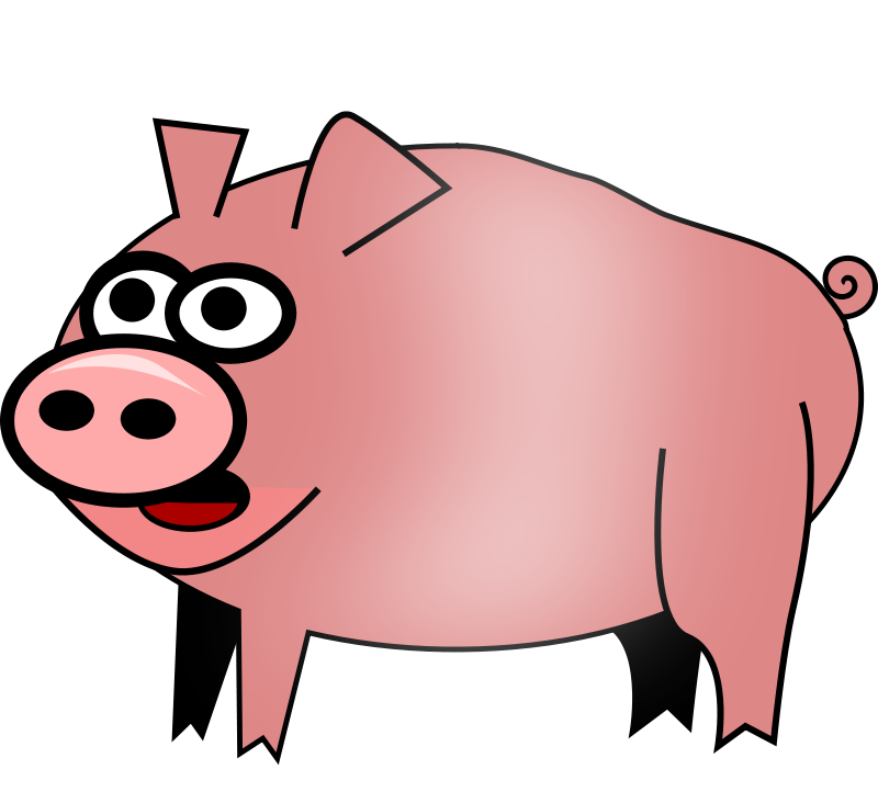 800x722 Free Clipart Pig Feraliminal