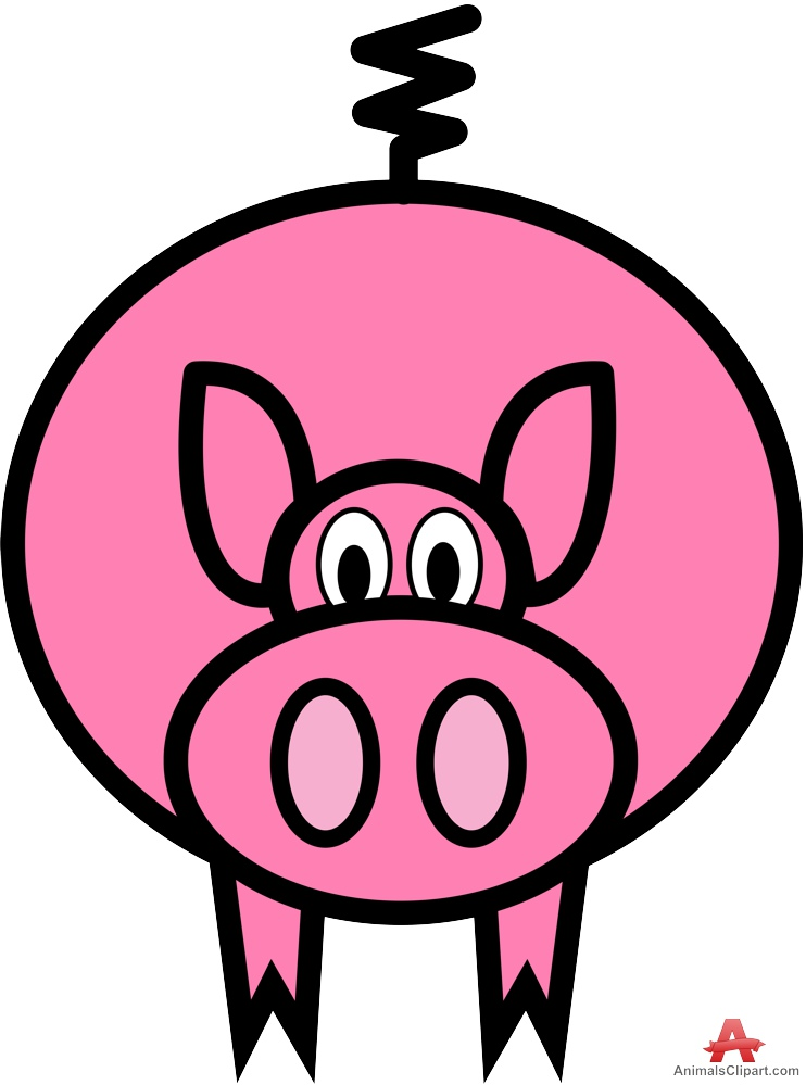 742x999 Clipart Cartoon Of Pig Character Free Clipart Design Download