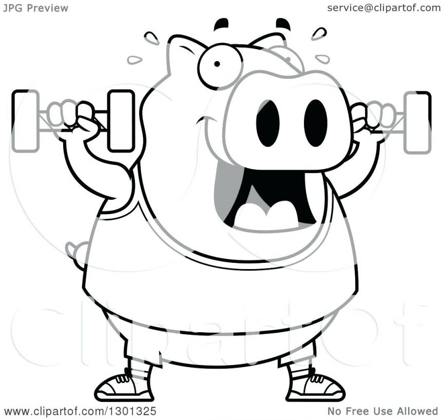 863x818 Coloring Pages Glamorous Outline Of A Pig. Peppa Pig Outline