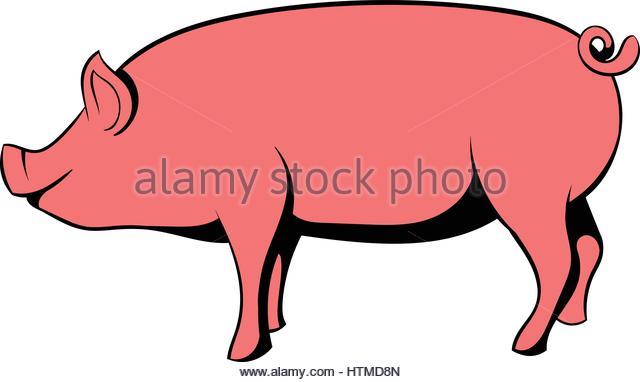 640x382 Cartoon Pig Stock Photos Amp Cartoon Pig Stock Images