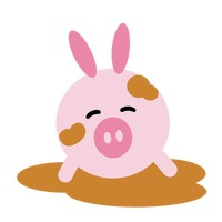 200x200 Character Characters Cartoon Pig Pigs Swine Animal Animals Mammal