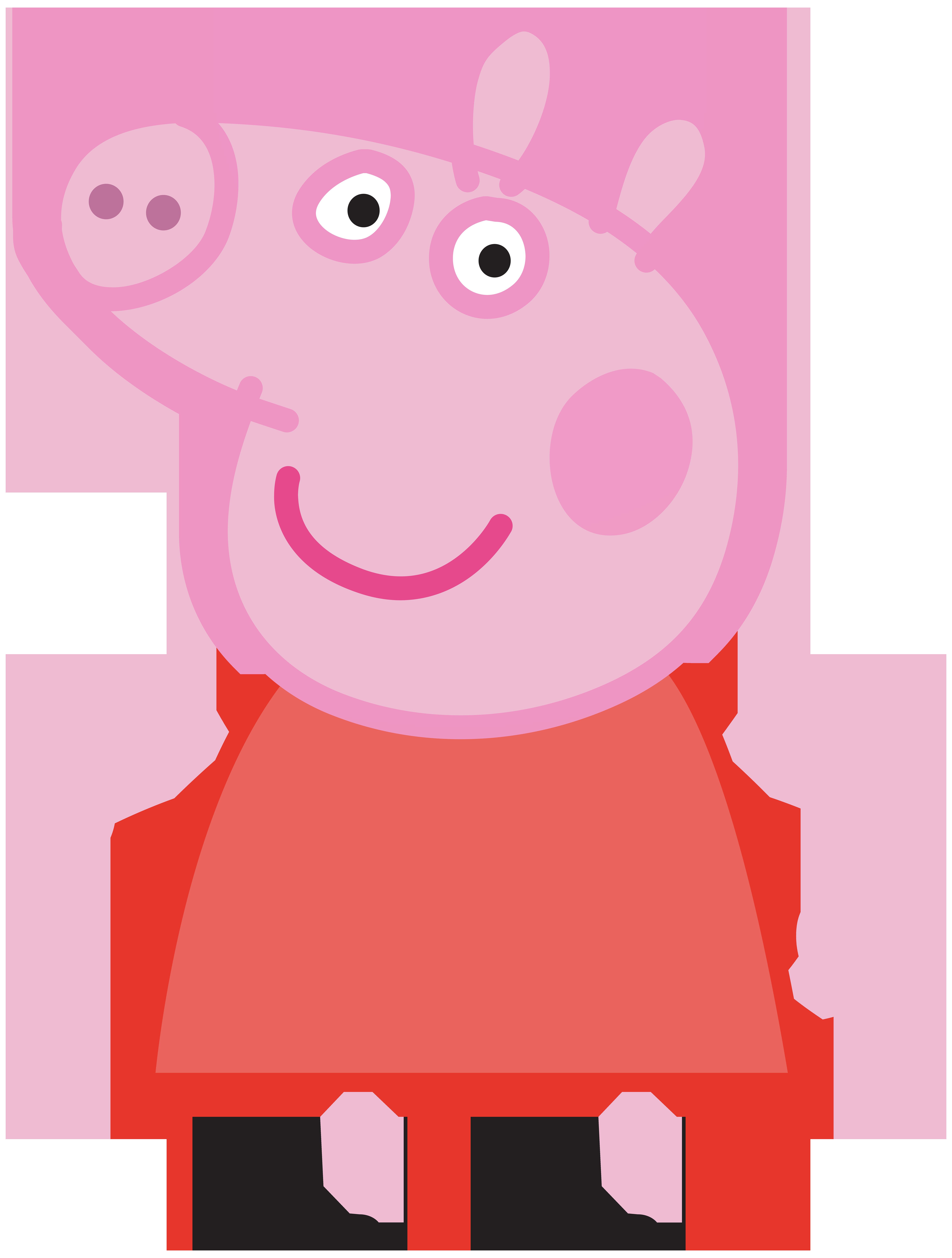 6057x8000 Peppa Pig Clipart
