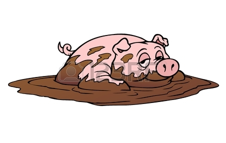 450x286 340 Pig Mud Stock Vector Illustration And Royalty Free Pig