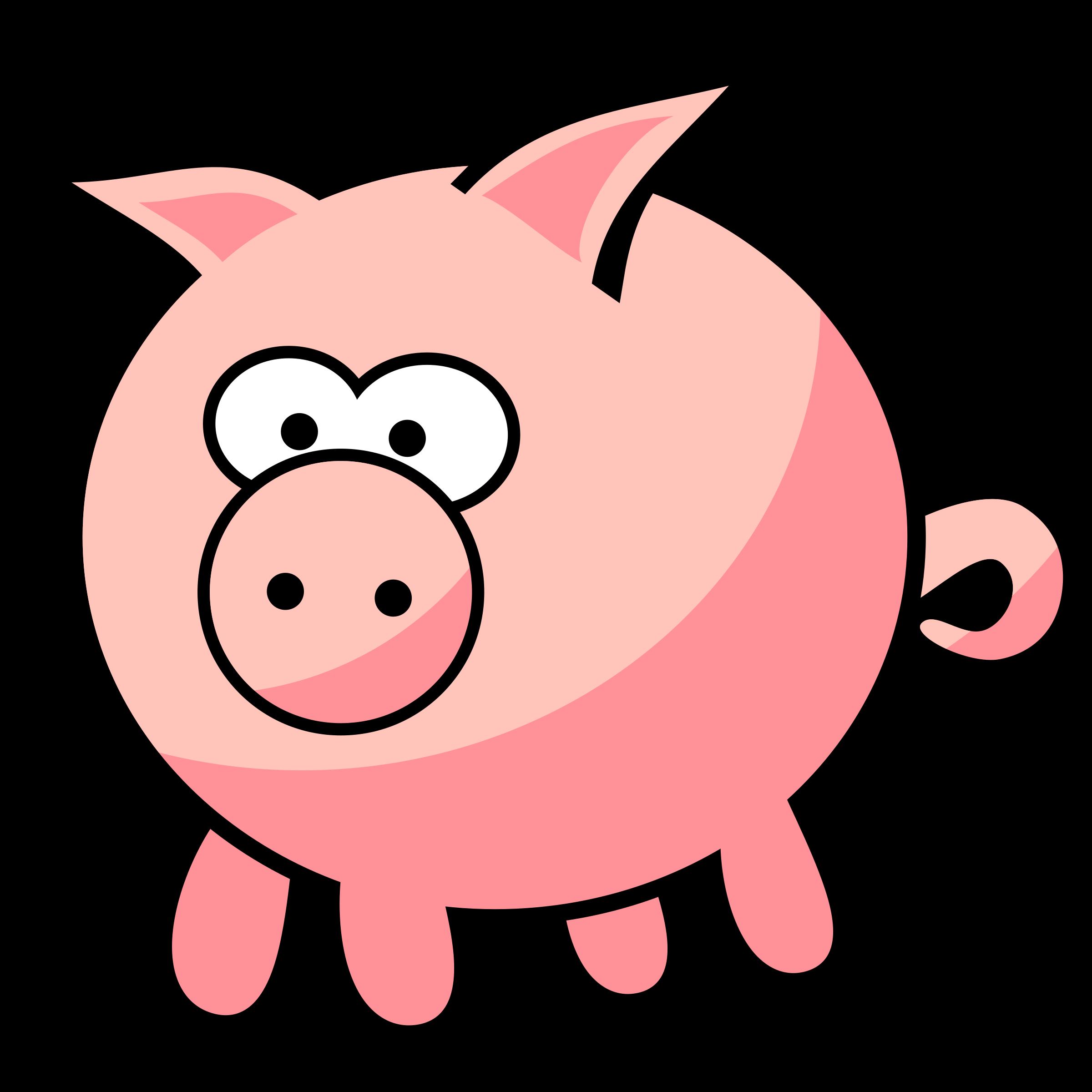 2400x2400 Pig Clipart Transparent