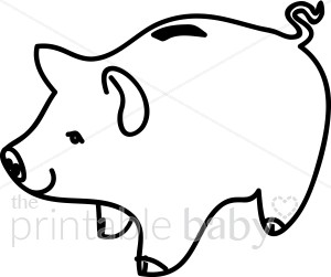 300x251 Piggy Bank Clipart Baby Toy Amp Supplies Clipart