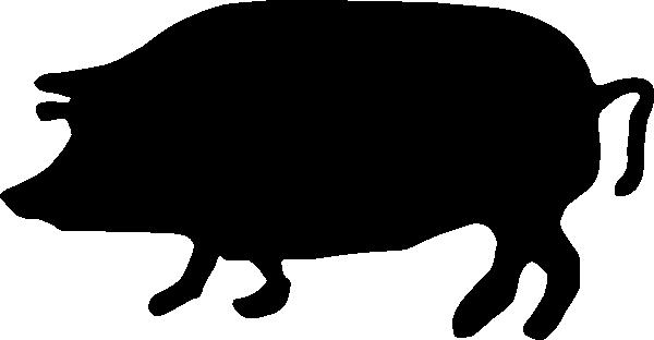 600x312 Bbq Silhouette Clipart