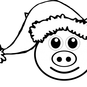 300x300 Adult Pig Face Coloring Page Pig Face Coloring Page. Printable Pig