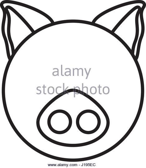469x540 Butcher Pig Illustration Stock Photos Amp Butcher Pig Illustration
