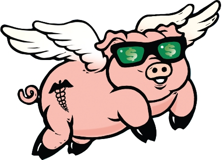 457x328 Flying Pig Clipart Many Interesting Cliparts