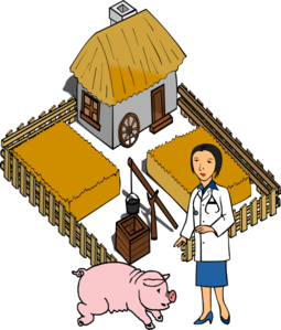 255x299 Pig farm clipart, explore pictures