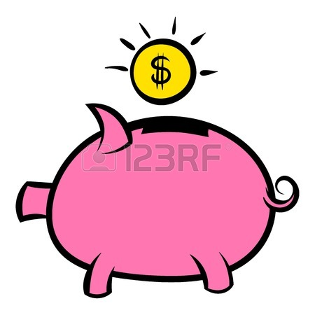 Piggy Bank Clipart Free