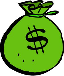 224x264 Clipart Free Money