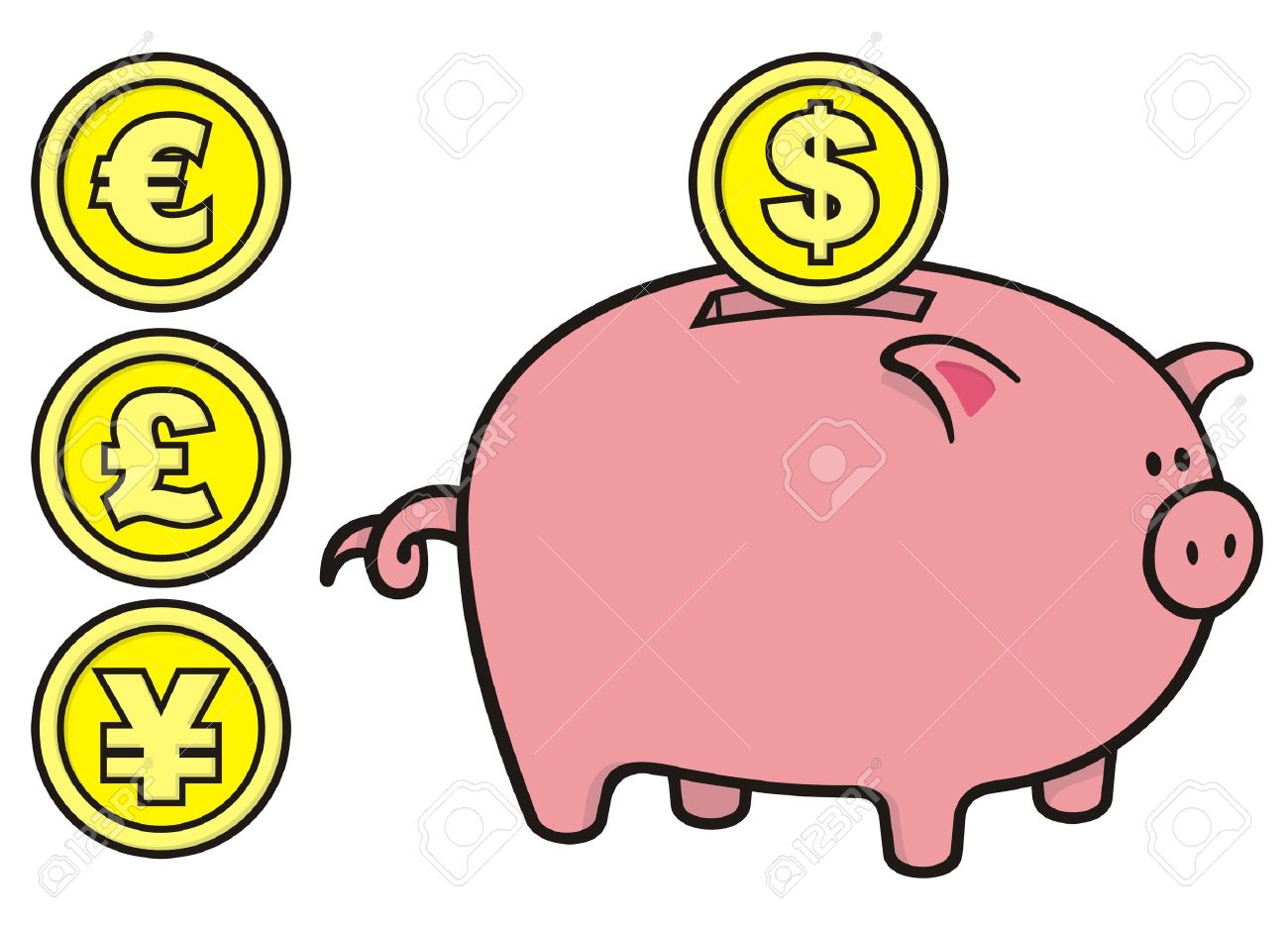1300x934 Coins Bank Clipart, Explore Pictures