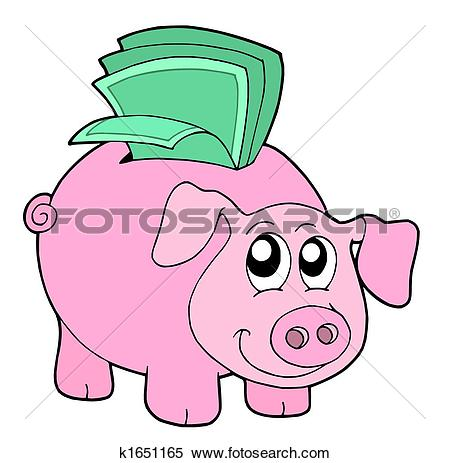 450x463 Money Clipart Pink
