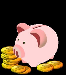 263x300 Piggy Bank Clipart Free Clipart Panda