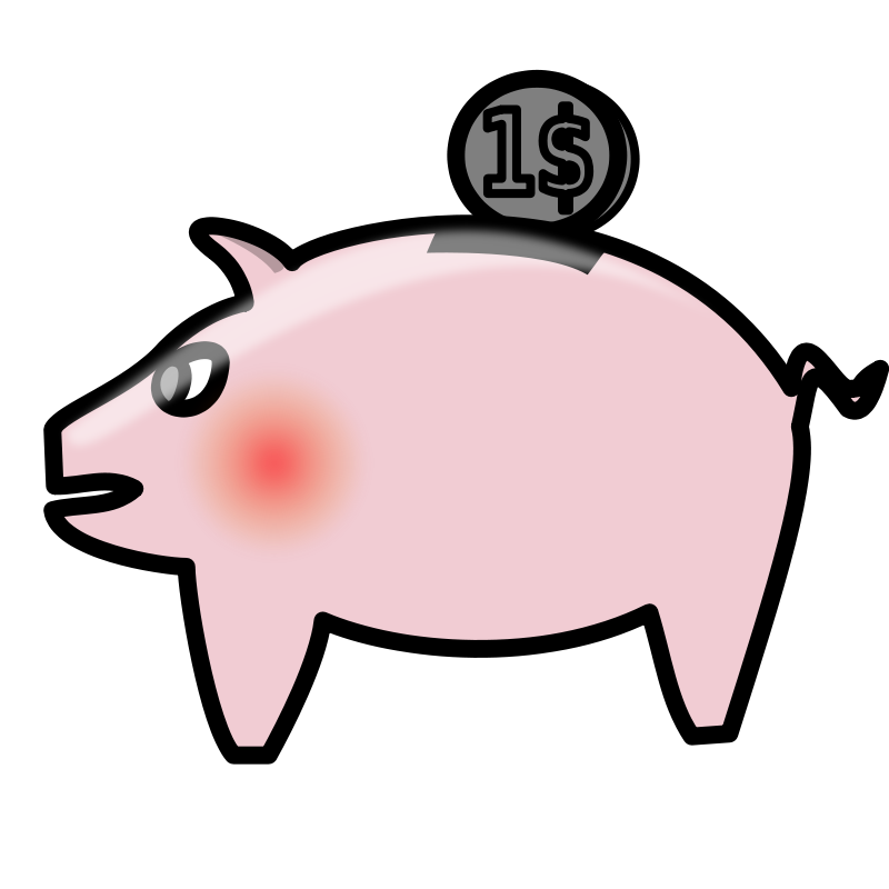 800x800 Piggy Bank Money Clipart Pictures Clipart Pictures Org