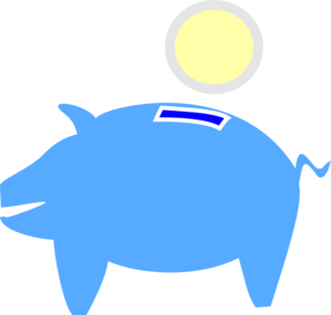 299x285 Piggy Bank Png, Svg Clip Art For Web