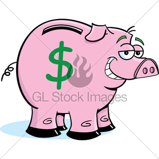 325x325 Piggy Bank Gl Stock Images