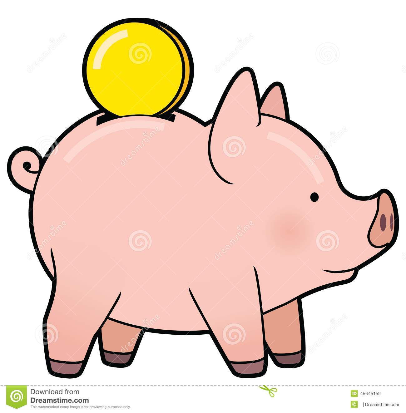 1300x1323 Animated Piggy Bank Clipart