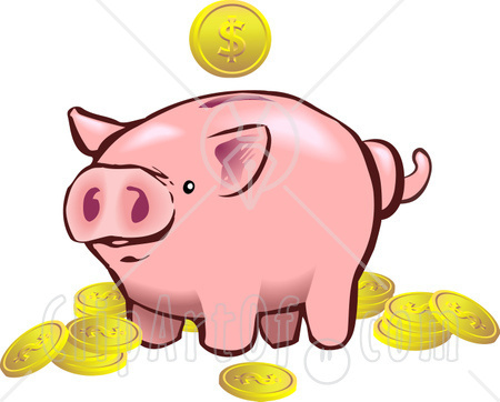 450x362 Piggy Bank Clipart Kids Saving