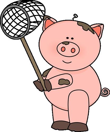 416x500 Pig Clip Art
