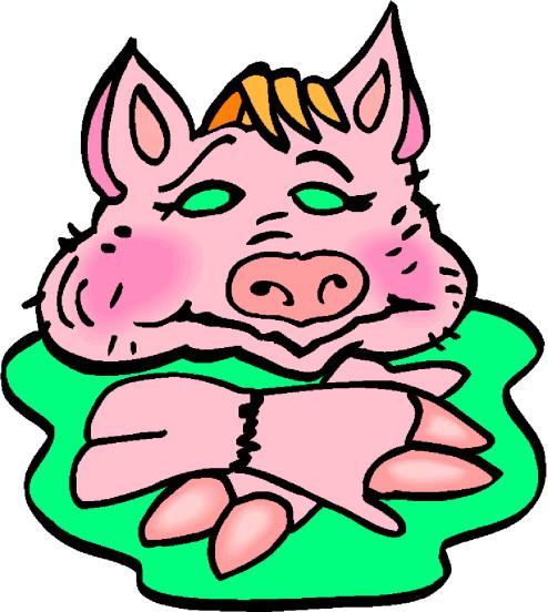 494x552 Pig Clipart Swine