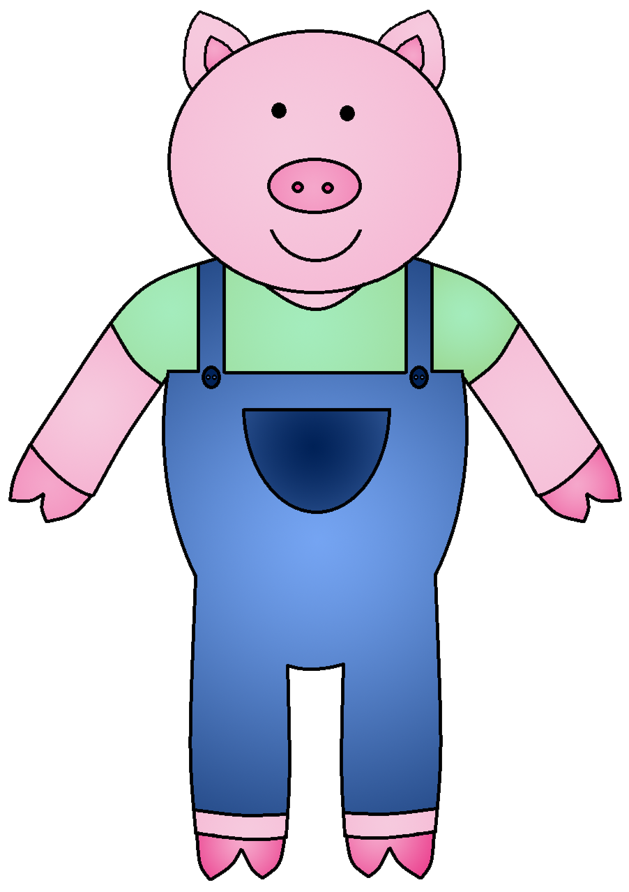 902x1279 The Three Little Pigs Clipart Clipartmonk