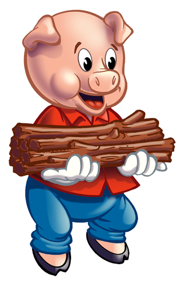 360x552 Three Little Pigs Clip Art Many Interesting Cliparts