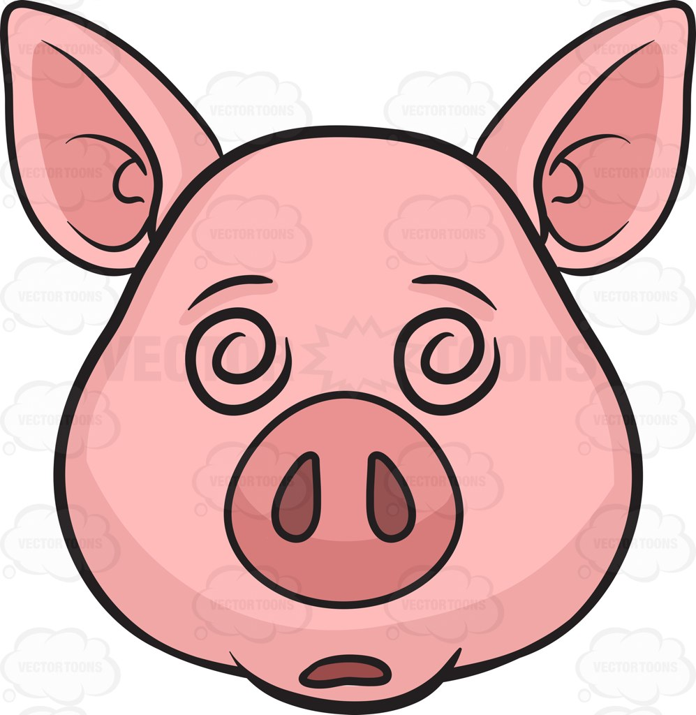 997x1024 Swine Clipart