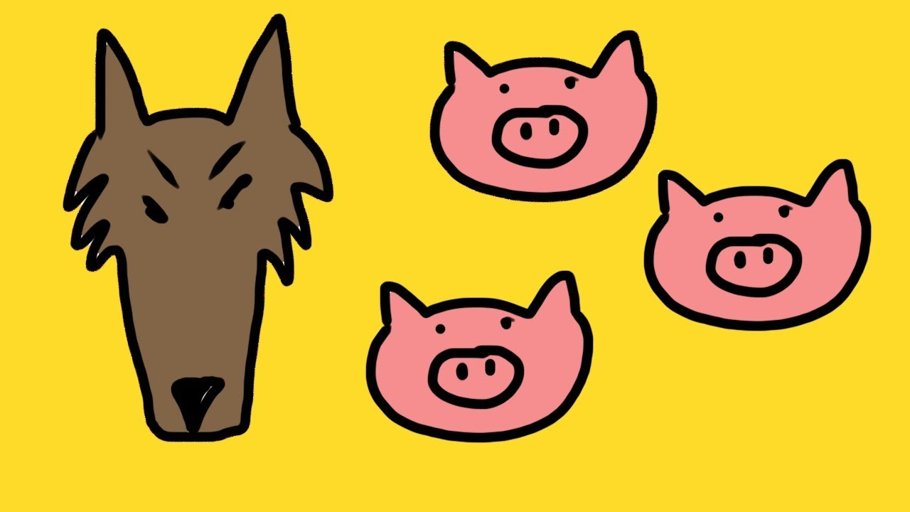 1280x720 Clip Art 3 Little Pigs Clip Art