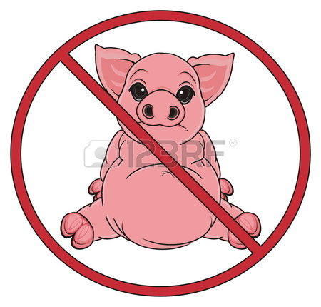 450x430 319 Sad Pig Cliparts, Stock Vector And Royalty Free Sad Pig