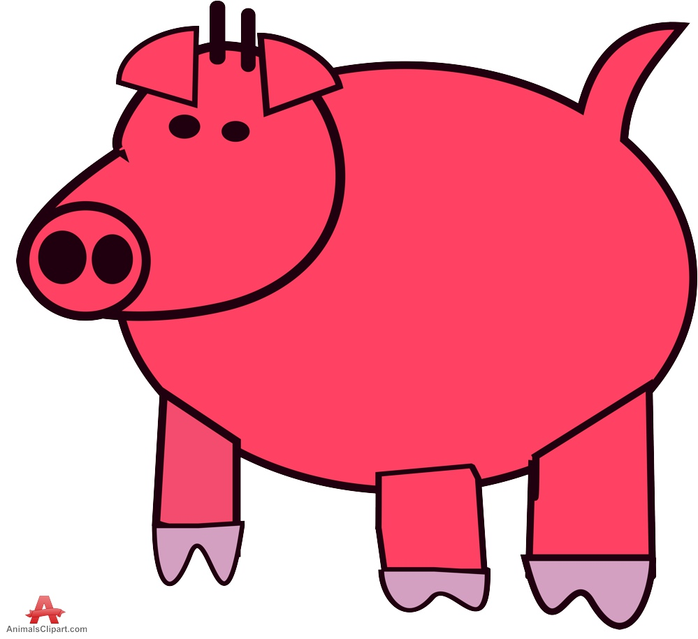 999x915 Big Pig Clipart Free Clipart Design Download