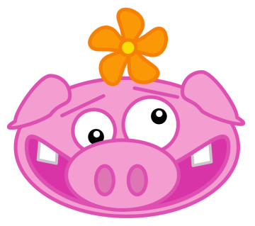360x319 Free Pig Clipart, 1 Page Of Public Domain Clip Art