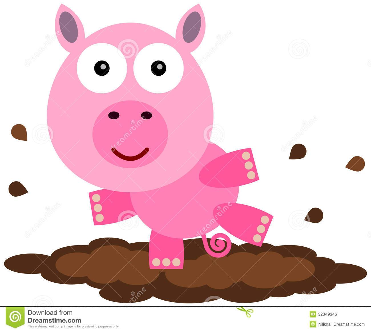 1300x1163 Mud Clipart Pig